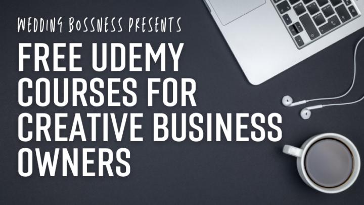wedding business courses on udemy